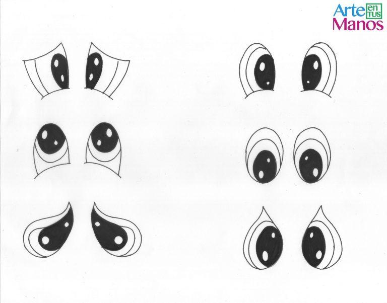 Ideas para dibujar ojos sencillos