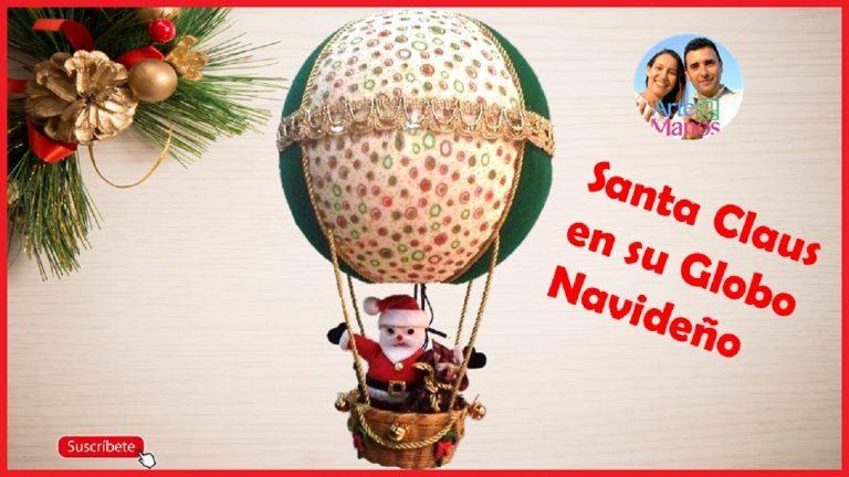 Proyectos Navideños, Porta cubiertos Muñeco de Nieve y Globo con Santa