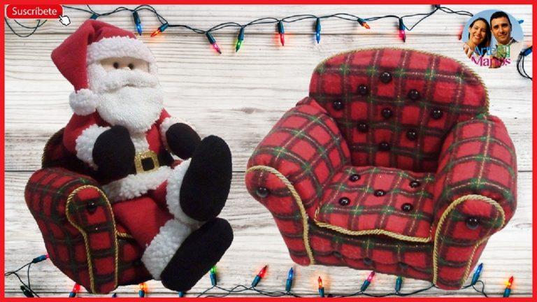 Sillón para Santa Claus con Material Reciclado, Paso a paso