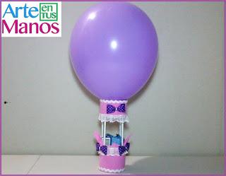 Decora con globos y goma eva fácil paso a paso
