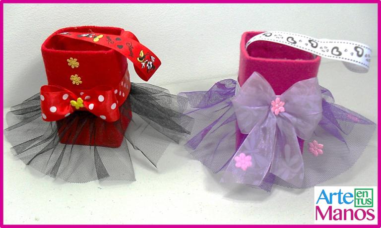 Dulceros de Ratona Minnie y Princesas en cajas recicladas