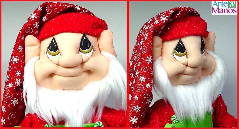 Faccionado paso a paso para Santa, Duendes y Gnomos