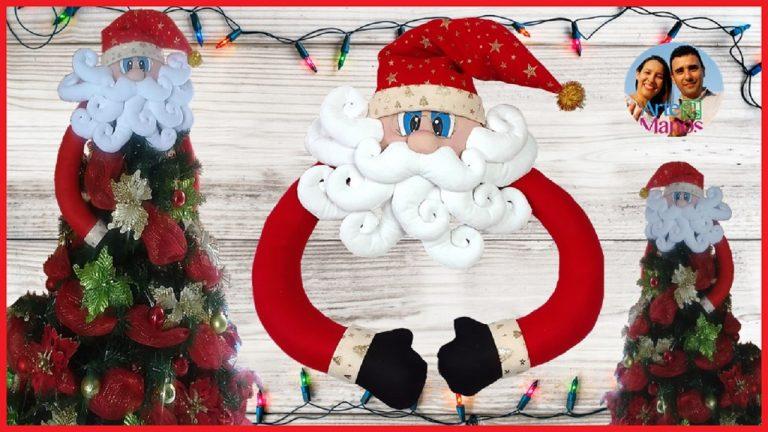Cómo hacer un Santa Claus para la Copa del Árbol