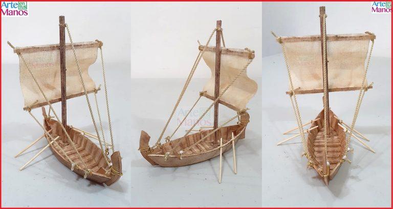 Cómo Hacer una Barca Antigüa Para Belenes