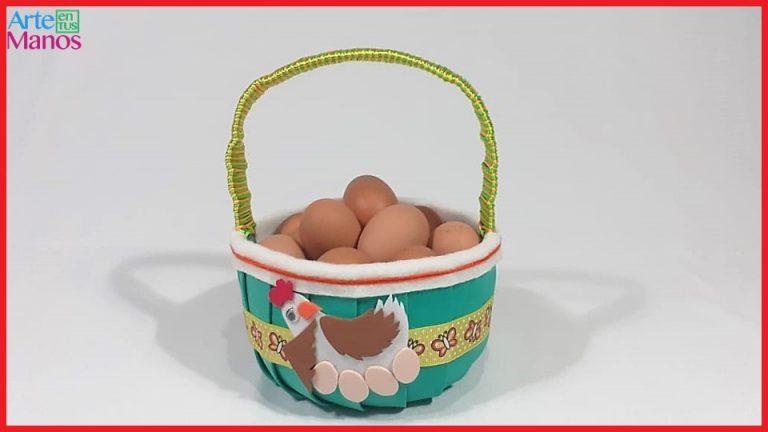 Cómo Hacer Una Canasta Porta Huevos con Botellas de Plástico