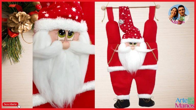 Cómo Hacer un Pendón Navideño de Santa Claus