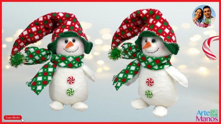 Muñeco de Nieve con gorro Cubre Orejas