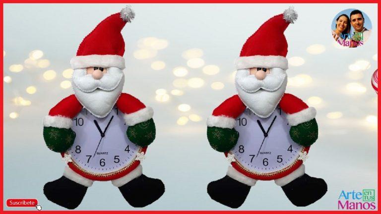 Cómo Decorar Un Reloj con Santa Claus