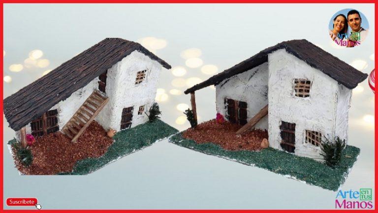 Casas para Pesebres y Belenes Paso a Paso ATM