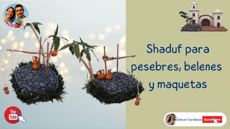 Shaduf, Cigoñal para Belenes, Pesebres y maquetas ATM