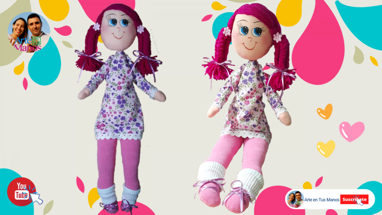 Muñeca de Trapo Anita, Arte en Tus Manos